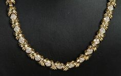 Tiffany & Co. 18k Yellow Gold and Diamond Necklace. Get the lowest price on Tiffany & Co. 18k Yellow Gold and Diamond Necklace and other fabulous designer clothing and accessories! Shop Tradesy now