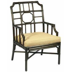 Regency Rattan Arm Chair - Clove Brown
