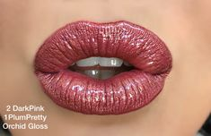 Dark pink and plum pretty LipSense!