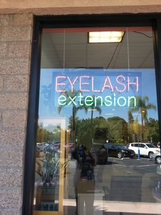Eyelash Extension Neon Sign #eyelashextension, #neon, #neonsign, #lash, #nails