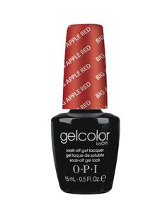 Amazon.com : O.P.I Gelcolor Collection Nail Gel Lacquer, Big Apple Red, 0.5 Fluid Ounce : Nail Polish : Beauty. I miss Sephora's gel nail collection. I love gelling my toenails.