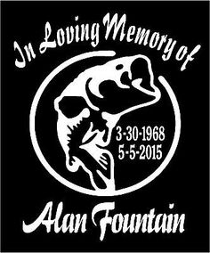 Custom Made Semi Truck In Loving Memory Of Decal  Decals - Car window decals custom made