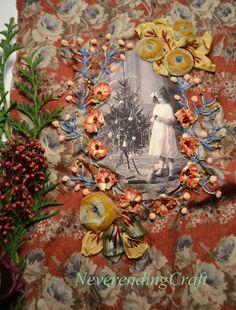 An embroidery a day ... Une broderie par jour (calendrier de l'avent) Jour 11 www.neverendingcraft.canalblog.com