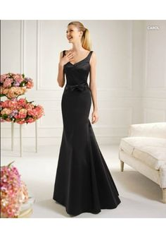 V Neck Floor Length Satin Trumpet Mermaid Prom Dress Prom Dress 2013 36a137bff2c4