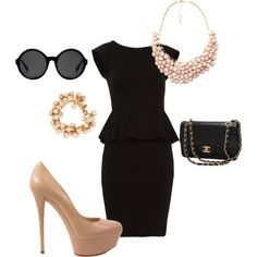 LBD, created by jhacciry on Polyvore. CLASSY.
