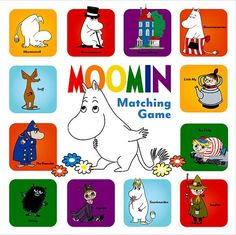 This classic matching game includes 72 cards featuring beloved Moomin characters. Fans of the Moomin books and those just discovering the magic of Moominvalley will delight in this game that helps develop memory, concentration, and matching skills.