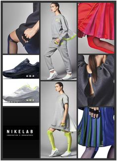 Nike Sacai - Nike Lab - Sexy work out clothing - To bad it is not available in The Netherlands