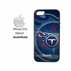 Tennessee Titans Custom #3 iPhone 5/5s HYBRID Case Cover