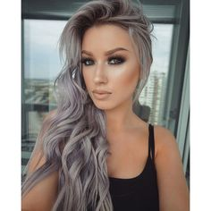 Hairstyles and Beauty: The Internet`s best hairstyles, fashion and makeup pics are here. Hair Color Balayage, Ombre Hair, No Yellow Shampoo, Hair Jazz, Best Hair Dye, Silver Blonde Hair, Pastel Hair, Grunge Hair, Fall Hair