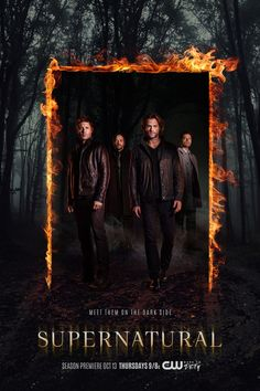 Supernatural Season 12!!! Sam & Dean Winchester in matching jackets!!!