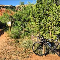 Slick tires  off-road = #whereislide.  #gravelgrinder #titaniumbike #roadbikesoffroad