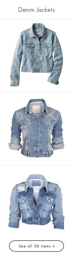 """Denim Jackets"" by neverforgetyou ❤ liked on Polyvore featuring outerwear, jackets, tops, coats & jackets, women, uniqlo jacket, blue denim jacket, blue jean jacket, denim jacket and uniqlo"