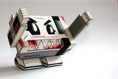 Alexis Huret Designs a Hip Nintendo Entertainment System Monster #paper #toys trendhunter.com