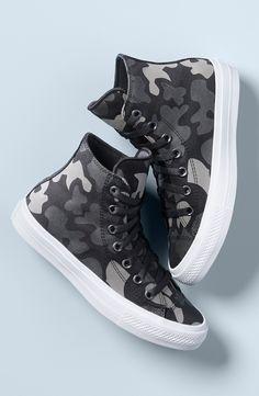 Converse Chuck Taylor® All Star® 'Chuck II' Camo Print High Top Sneaker (Women)