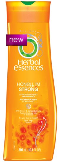 Honey I'm Strong by Herbal Essences.  Leaves your hair less prone to breakage, soft, for the most part tangle-free, squeaky clean (THE SHAMPOO AND CONDITIONER DOESN'T MAKE YOUR SCALP OILY IF YOU DO IT RIGHT) and most importantly, smelling great! :) definitely buying again :)