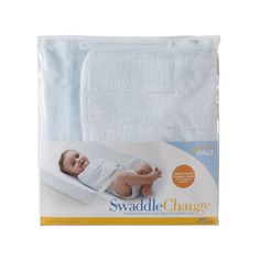 HALO SwaddleChange Changing Pad Cover, Blue