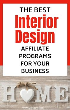 These are the best affiliate programs for interior designers to start making money blogging from your design business online #makemoneyonline #affiliatemarketing #affiliateprograms #passiveincome  make money online | affiliate marketing | affiliate programs | passive income | Make Money Blogging, Make Money Online, How To Make Money, Content Marketing, Affiliate Marketing, Social Media Influencer, Business Entrepreneur, Blogging For Beginners, Passive Income