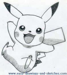 how to draw pikachu 2