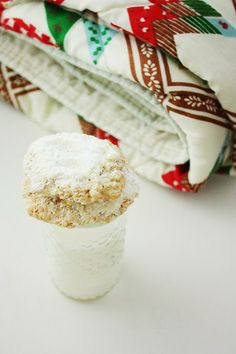 buttery and delicate, snowy-topped Oatmeal Crispies