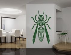 wasp wall decals
