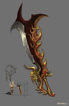夺宝传世第二武器 - 游戏武器城主之刃:龙之刃