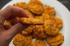 Buñuelos de calabaza y zanahoria al horno:   16 Recetas al horno que son igual o más ricas que lo frito