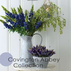 With many items in a beautiful silvery grey color, the Covington Abbey Collection relies on using other colors to brighten the items, adding visual appeal. From tablecloths to tote bags, and candle holders to wall mirrors, this collection has a wide variety of products to select from.