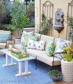 monterosso mosaic rectangle table top | outdoor living | pinterest ... - Indoor Patio Ideas