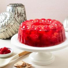Eating Well: Champagne Raspberry Jello Recipe