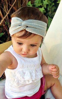Handmade turban head bands made from a soft knit fabric. (Like a cardigan sweater type material) >>>Sizes<<<  stretches up to 1.5 comfortably  (up