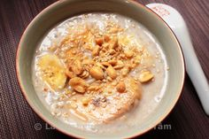 Chè chuối Bananes au lait de coco La Kitchenette de Miss Tâm
