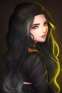 Dark Fantasy Art, Fantasy Girl, Cartoon Kunst, Cartoon Art, Fantasy Character Design, Character Art, Character Concept, Digital Art Girl, Character Portraits
