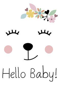 Lamina Hello, Láminas decorativas, láminas cuadros, láminas infantiles, láminas niños, láminas decoración, láminas pared, láminas nórdicas, ilustración, ilustraciones niños, ilustración infantil, habitación bebé, decoración niños