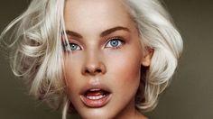 Trucco capelli bianchi