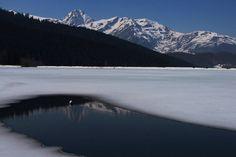 Le Lac de Payolle, au pied du Col d'Aspin et du Pic du Midi de Bigorre