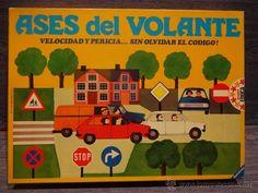 ASES DEL VOLANTE. DE JUEGOS EDUCA. AÑOS 80. COMPLETO. BUENA CONSERVACIÓN.