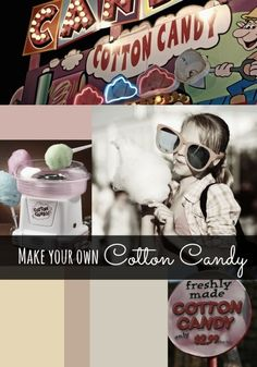 How to make your own cotton candy at home