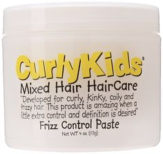 CurlyKids Frizz Control Paste, 4 Ounce *** Special  product just for you. See it now! : Hair Scalp Care