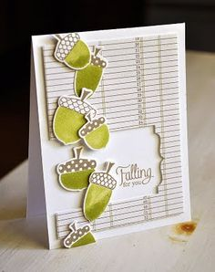 Love how she used the Half and Half die to cut out some of the patterned paper.