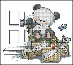 .Cross stitch chart - image only