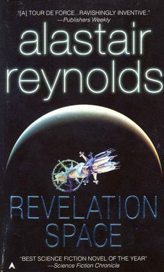 Alastair Reynolds... Revelation Space... Read it, love it... read everything he writes... There is no better science fiction writer in my mind.