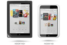 Barnes & Noble Announces Nook HD and Nook HD+ Android Tablets