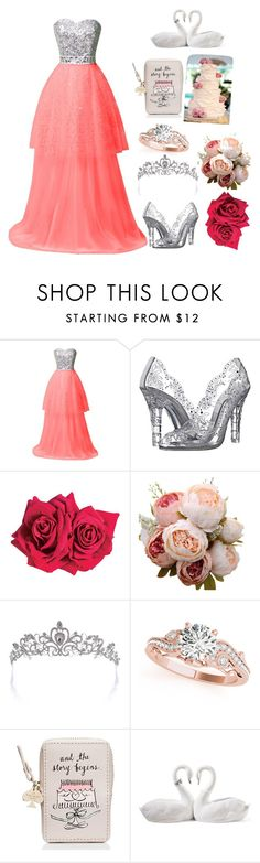 """Untitled #227"" by kayz-passion-for-fashion ❤ liked on Polyvore featuring Dolce&Gabbana, Avon, Allurez, Kate Spade and Lladró"