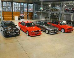 BMW M3 E30. Europameister 148 Stück Cecotto 505Stück Evolution II. 500Stück Cabrio. 786Stück Eine echte Seltenheit diese Fahrzeuge alle zusammen zu bekommen.