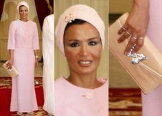 Sheikha Mozah of Qatar.