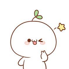 Barxa, I'm waiting 😇 Cute Little Drawings, Cute Easy Drawings, Cute Kawaii Drawings, Doodles Kawaii, Cute Doodles, Kawaii Faces, Kawaii Cute, Doodles Bonitos, Easy Doodles Drawings