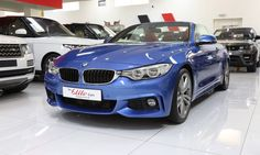 Get this stunning blue BMW 428i M-SPORT CONVERTIBLE @ only  AED 189,000   Contact ☎️ 04 321 2290