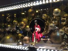 Galeries Lafayette, Printemps : promenade magique devant les vitrines de Noël | Etcaetera