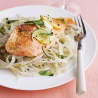 Citrus Salmon with Rice Noodles - Cooking Light