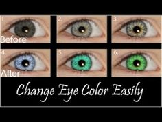 In this tutorial, we go over how to change from a dark eye color such as brown, to a lighter color such as blue.    Visit us on Facebook @ http://www.facebook.com/PsychStudios  Follow us on Twitter @ http://twitter.com/#!/Psych_studios